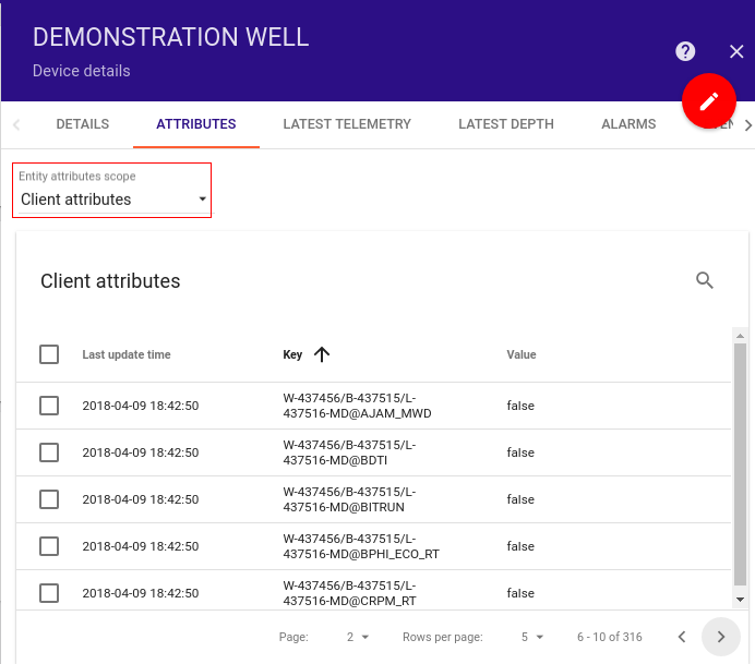Provisioning Nifi WITSML FLOW — Tempus Cloud 1 3 documentation